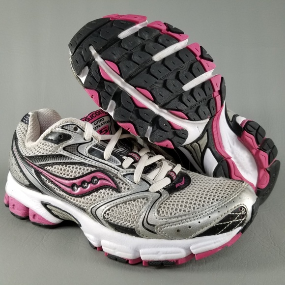 db92d7514d Saucony Grid Stratos 5 Womens Running Shoes 6 Pink